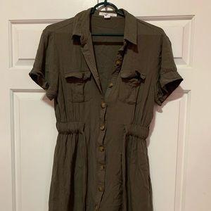 Streetwear Society Army Green Dress